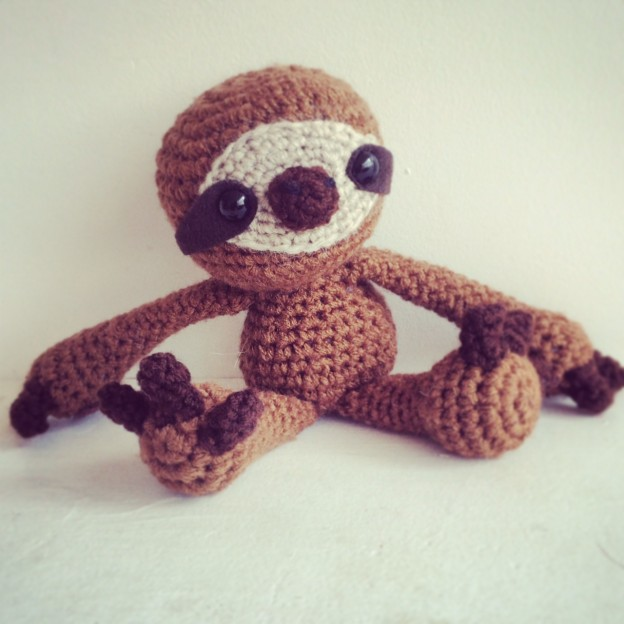 Adorable Amigurumi Sloths | 624x624